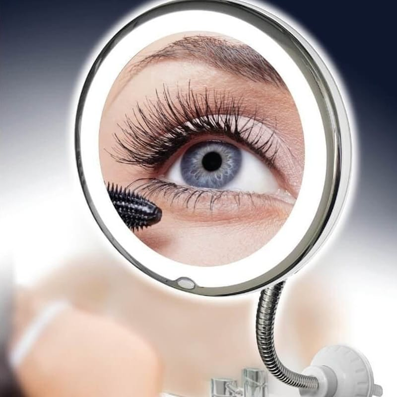 Flexible Mirror with 10x Magnification