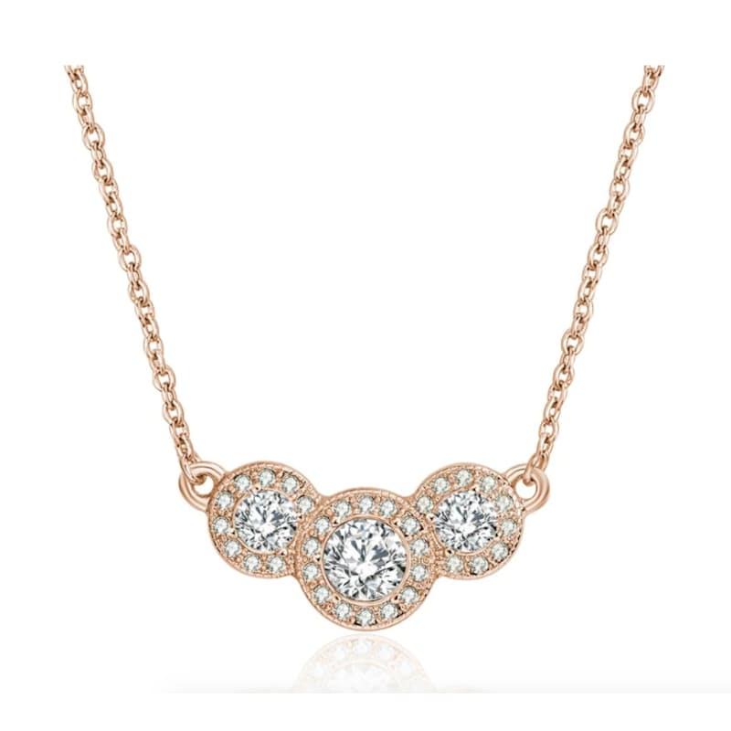 Camilla Statement Necklace with Swarovski Crystals