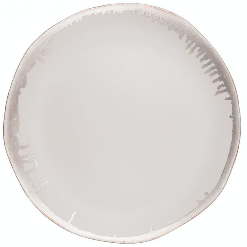 Set of 6 Reflets D Argent 20cm or 27cm Round Plates