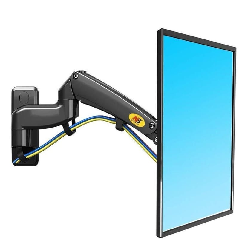 Double Extension Swivel Monitor Mount for 30-40 Inch Screens