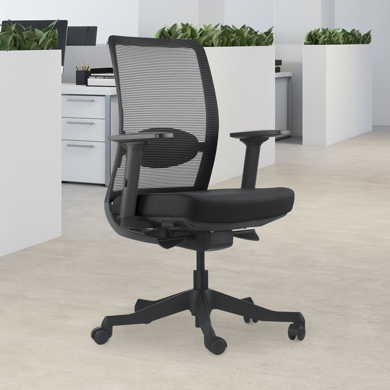 Motion Mid Back Ergonomic Office Chair