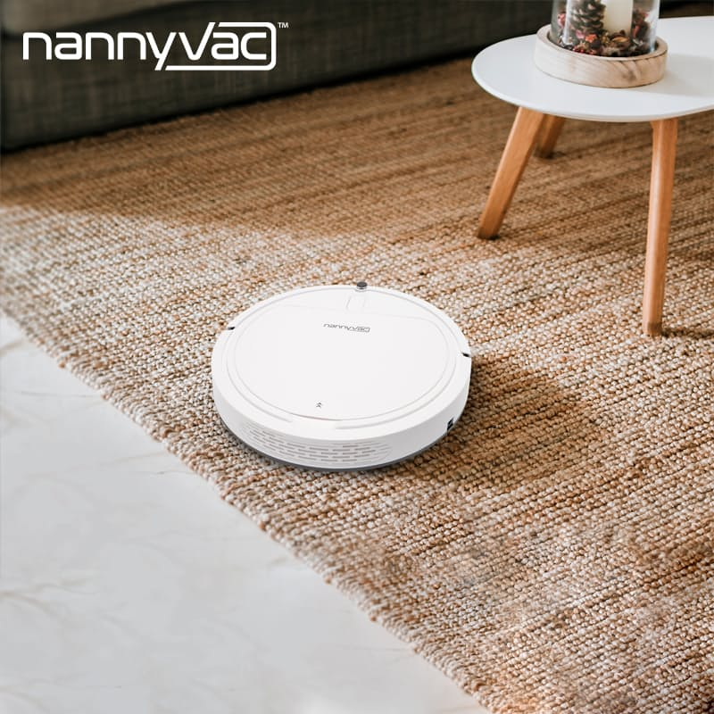 Smart Robot Mop Vacuum with Self-Docking Station