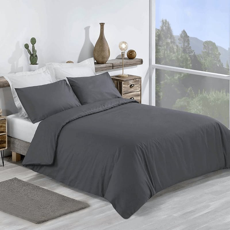 180TC Poly-Percale Duvet Covers