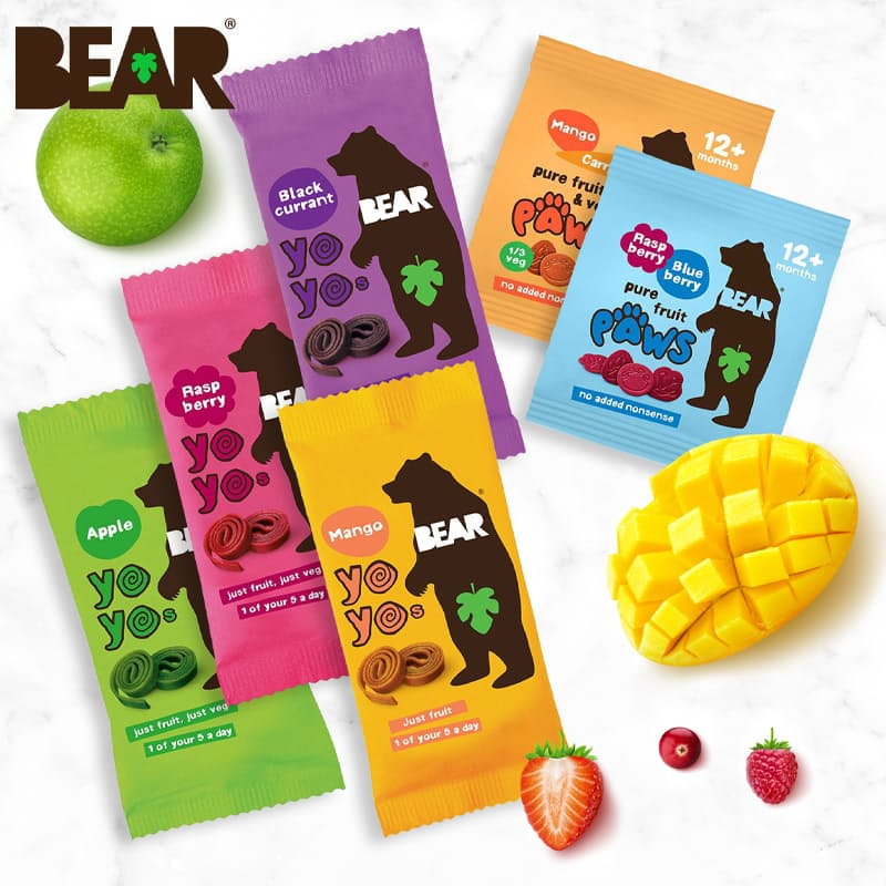 Pack of 18 Fruit Snacks