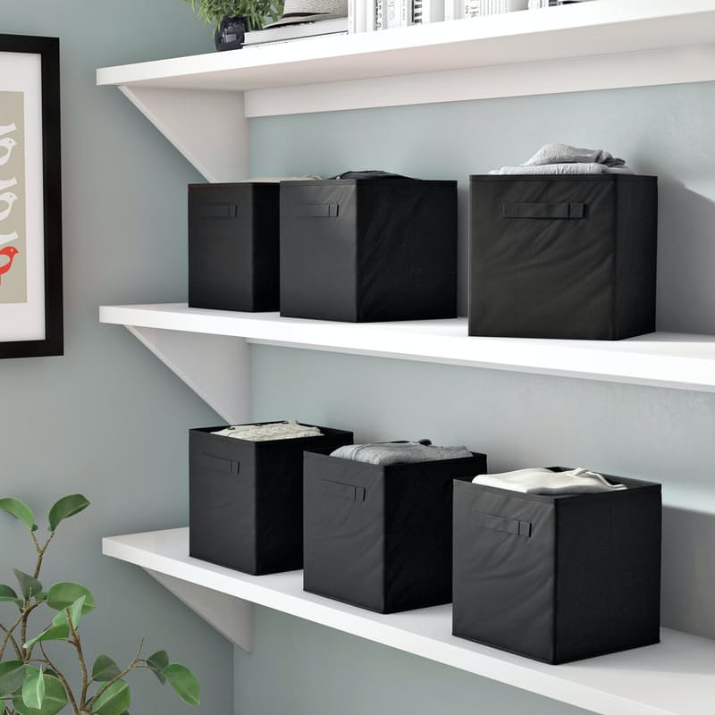Pack of 6 Foldable Storage Bins
