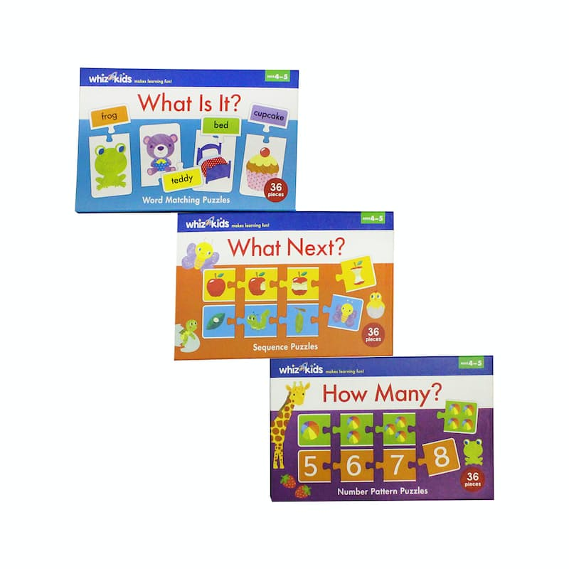 Set of 2 Educational Puzzles
