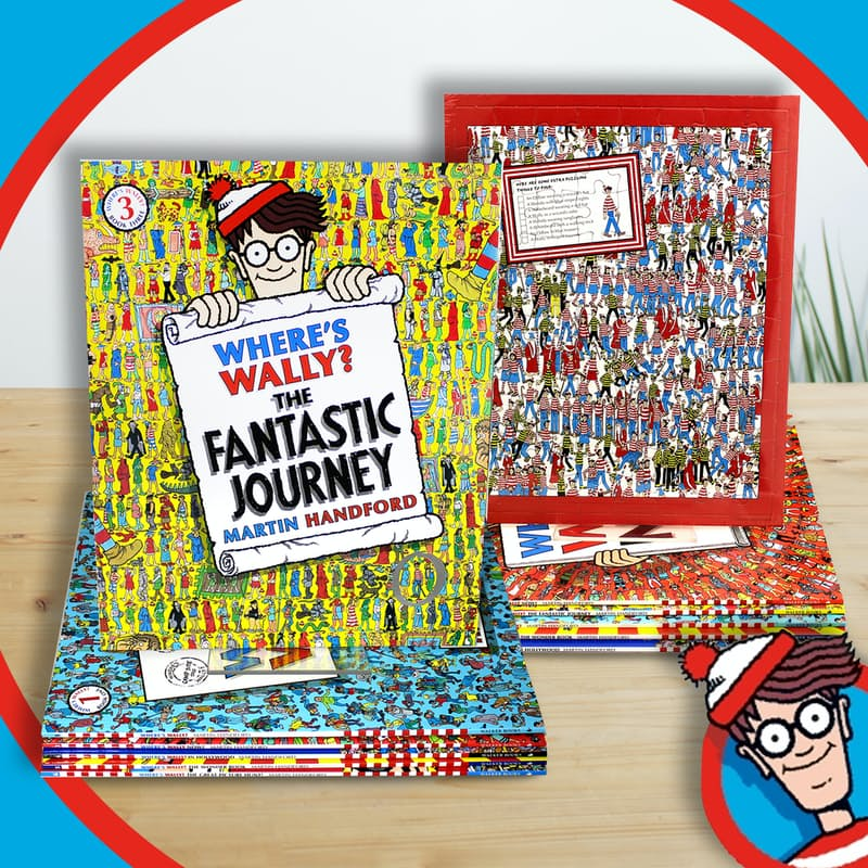 WOW: Amazing Books & Jigsaw Puzzle Box Collection (6 Books)