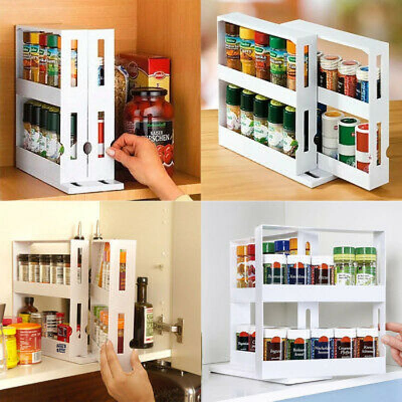 30% off on 2-Tier Rotating Condiment Organiser