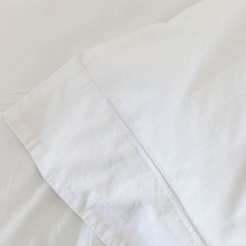 250 Thread Count White Fitted Sheet