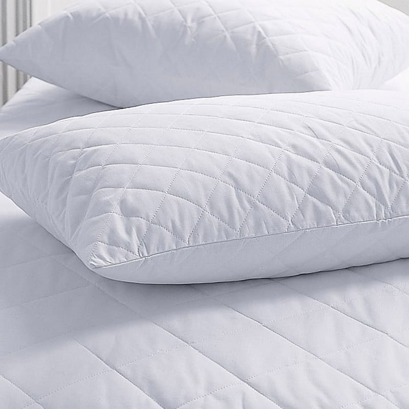 Set of 2 Quilted Waterproof Pillow Protectors