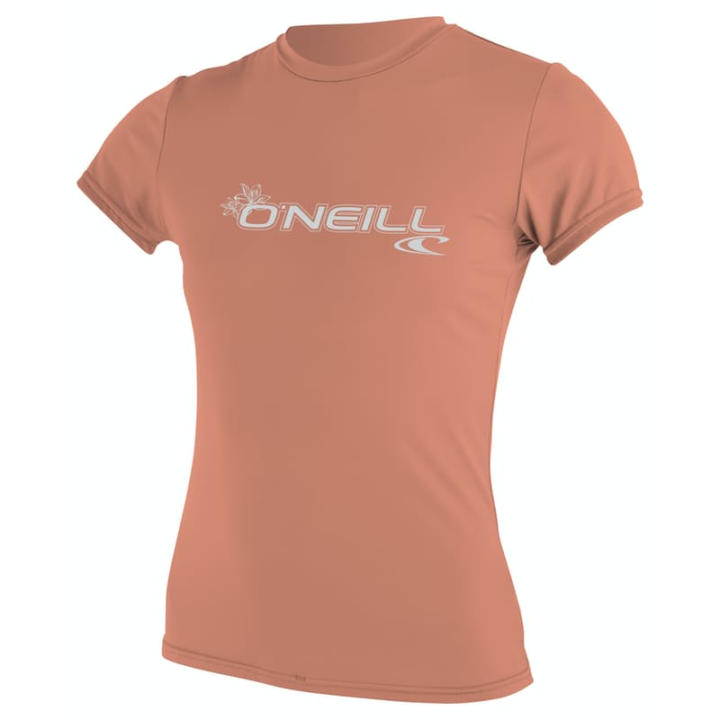Ladies Basic Short Sleeve Rash Vest