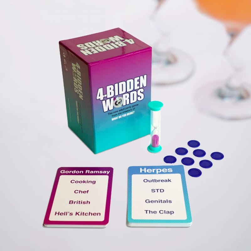 4-Bidden Words- The New Adult Party Game by the Creators of What Do You Meme