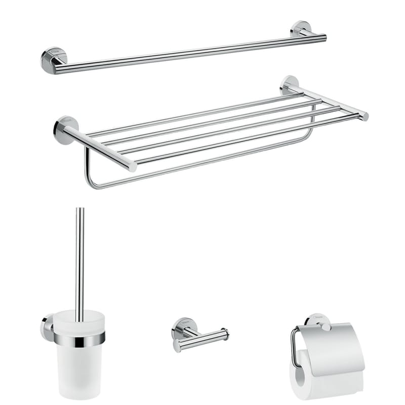 5-in-1 Logis Universal Bathroom Accessory Set