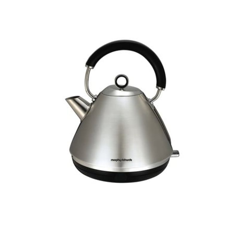 """1.5L """"Accents"""" 360 Degree Stainless Steel Cordless Kettle"""