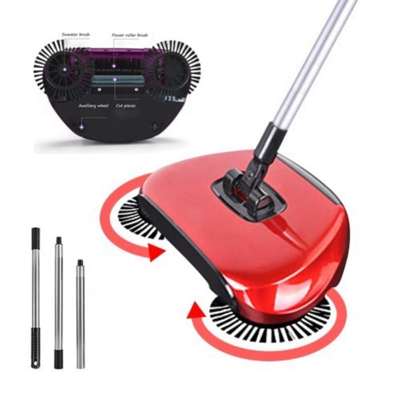All-in-one Floor Sweeper (No Electricity)