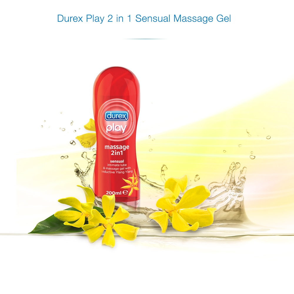 play 2 in 1 massage gel and lube with arousing guarana 200ml