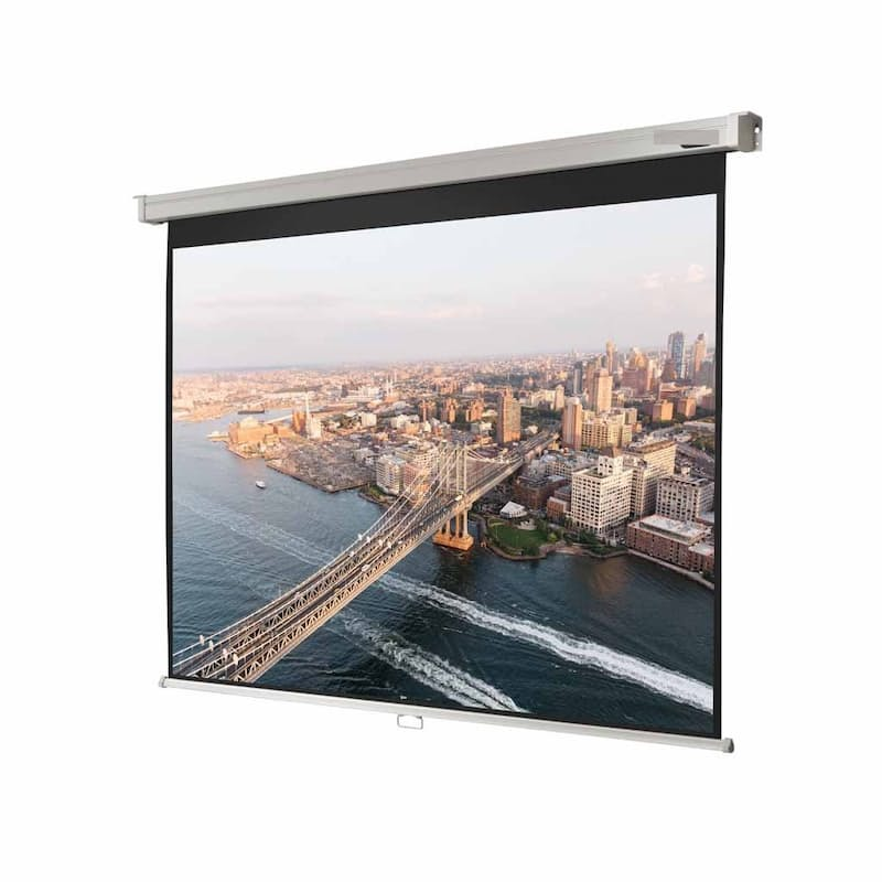 "84"" Electric HD Projector Screen with Remote"