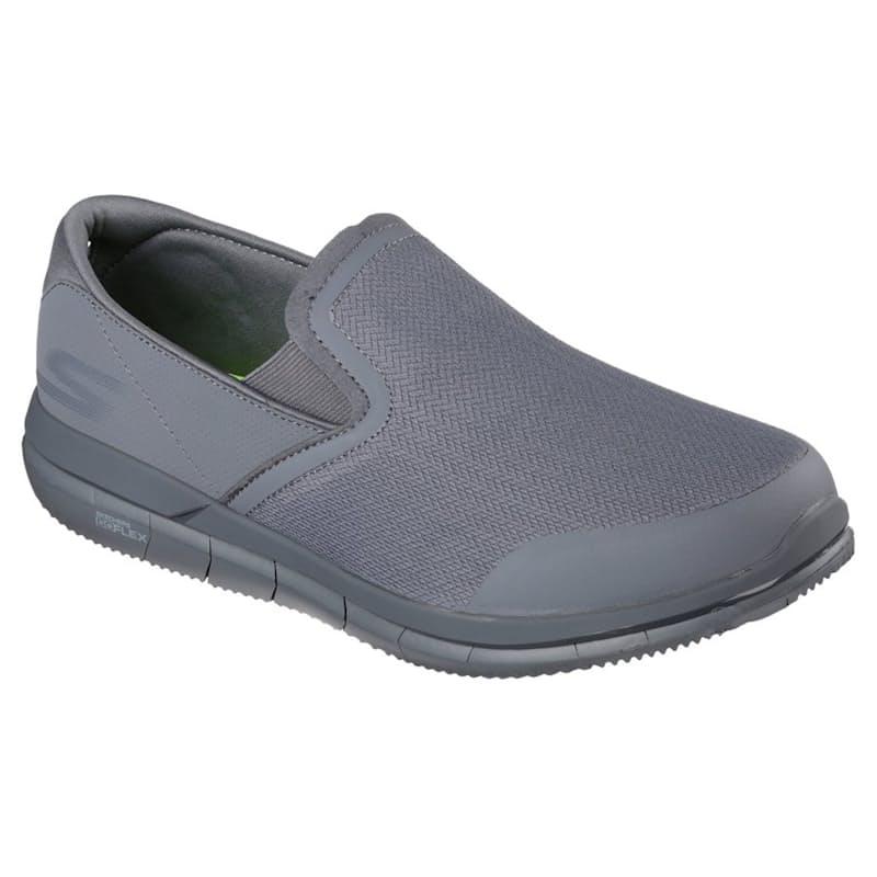 Men's Charcoal Go Flex Walk Sneakers