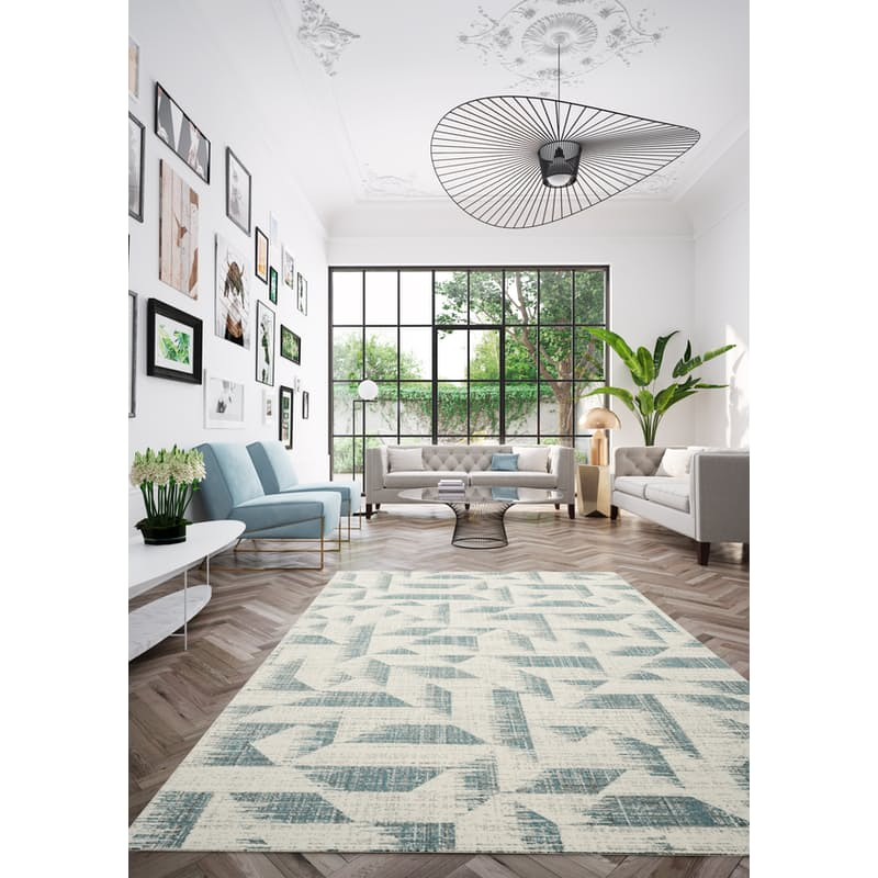 100% Polypropylene Antique Trend Rug (Multiple Sizes Available)