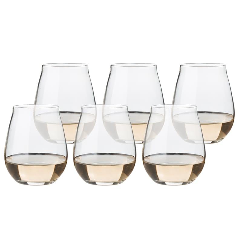670ml Vinea Stemless Wine Glasses (Set of 6)