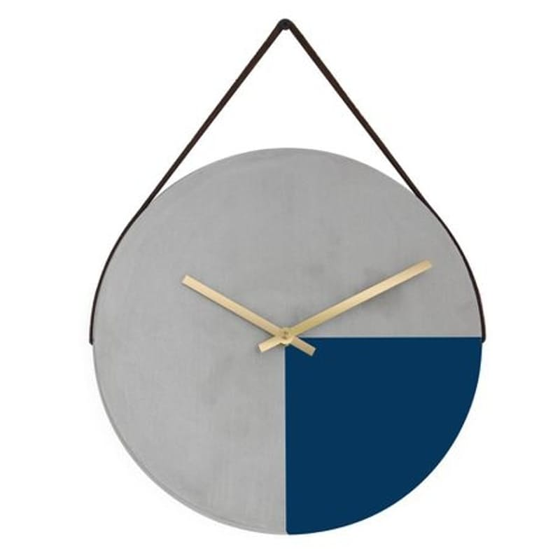 Handcrafted Cement Wall Clock