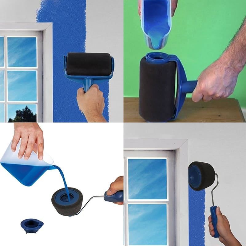 A Non-Drip Paint Roller That Stores Paint