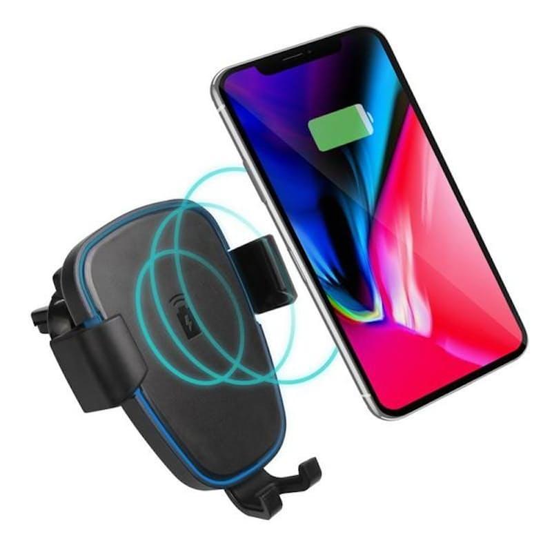 Wireless Charging Gravity Car Phone Holder