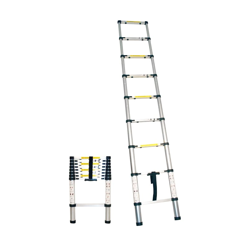 Extendable 2.6m Straight 9-Step Ladder