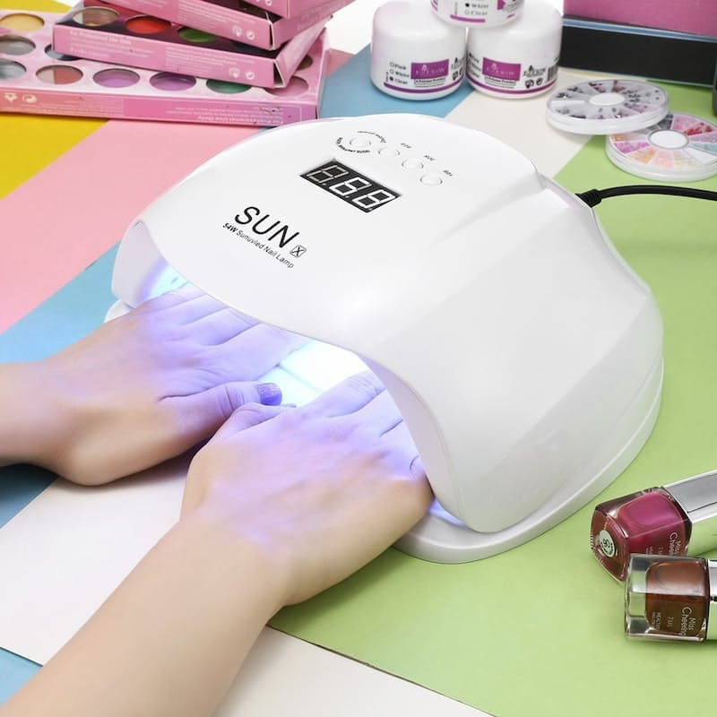 54W Smart-sensor UV Gel Nail Lamp