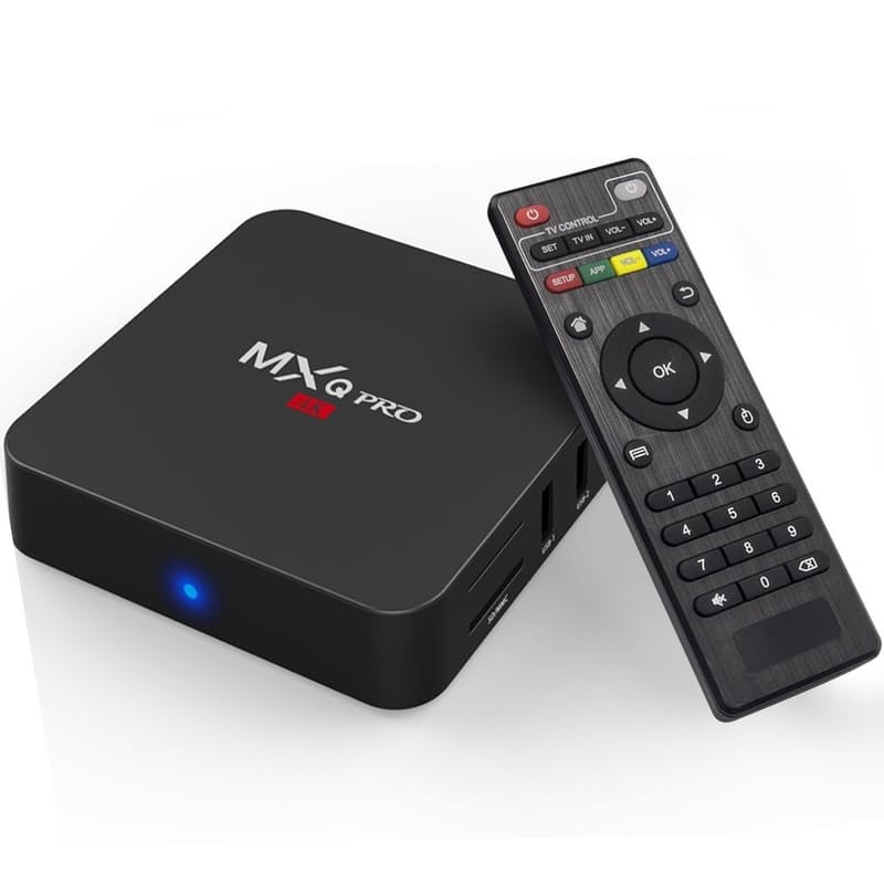 4K Smart Android TV Box Media Player & Remote