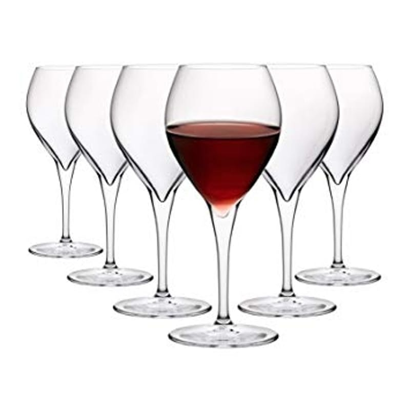 Set of 6 445ml Monte Carlo Red Wine Glasses
