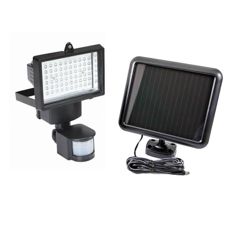 60 LED Solar Panel Powered Motion Sensor Light