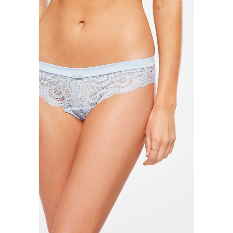 Ladies Chambray Pack of 4 Phoebe Brasiliano Briefs (Dusty Units)