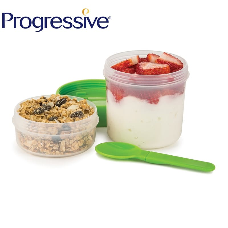 On-The-Go Snack Duo 2-In-1 Container