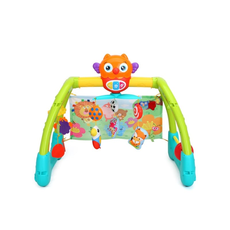 5-in-1 Baby Play Gym with Music & Lights