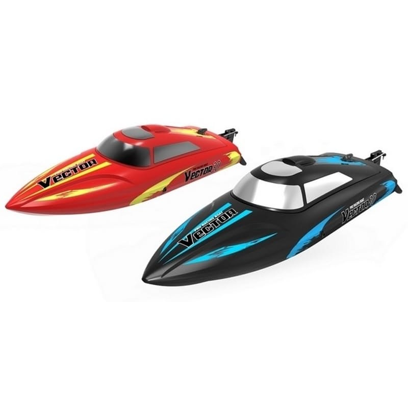 Remote Control Vector 30 Brushed Boat with Batteries and USB Charger