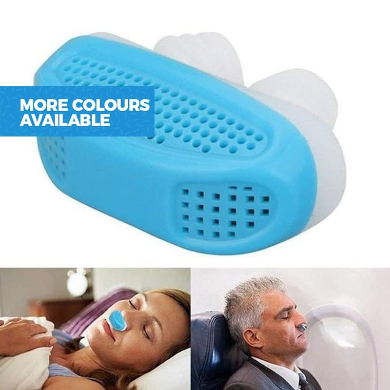 2-in-1 Anti-Snoring and Air-Purifying Aid