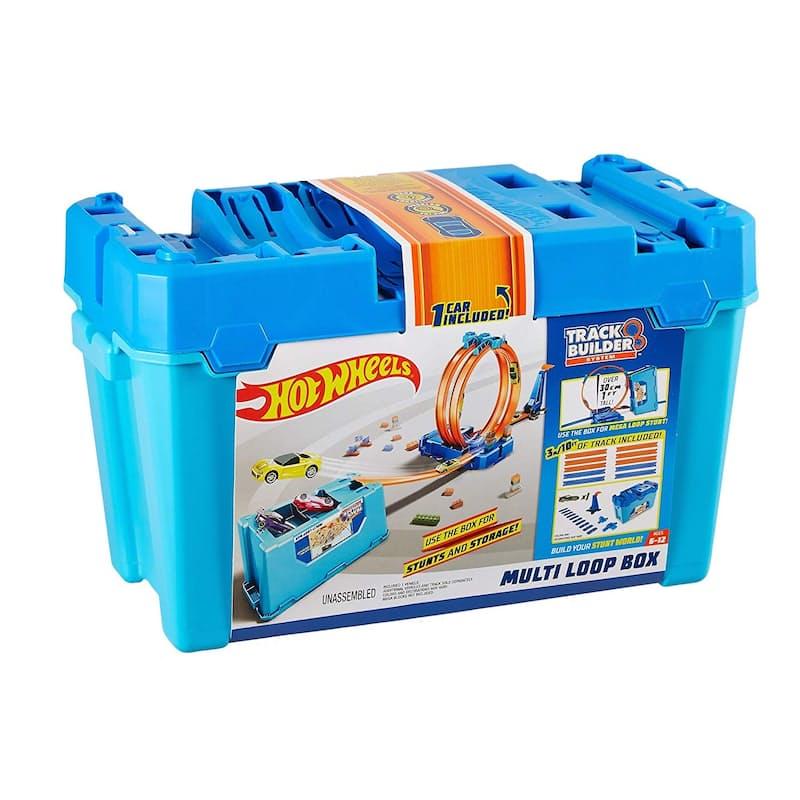 Track Builder Multi Loop Box Playset