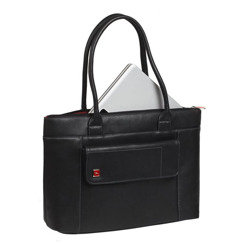 """Orly 15.6"""" Water Resistant PU Leather Laptop Bag"""