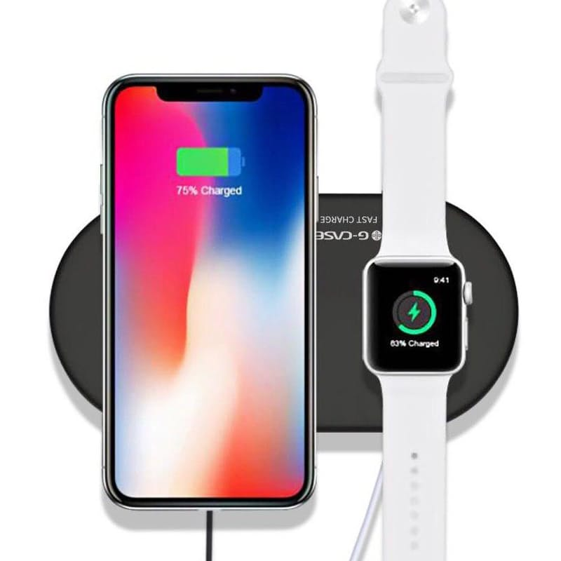 Apple watch charger required. Phone & Watch not included