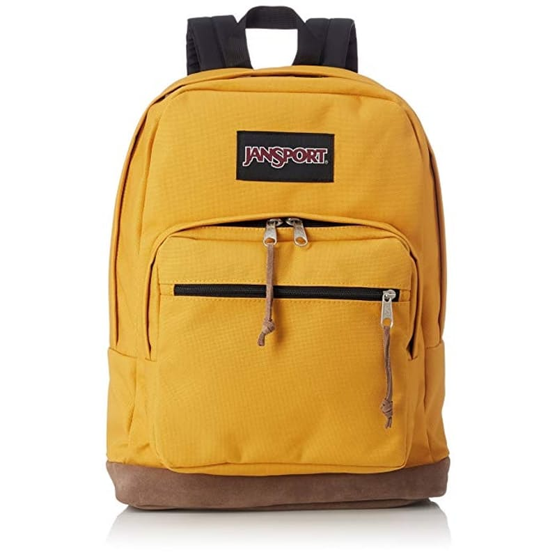 Right Pack Backpack with Genuine Leather Bottom