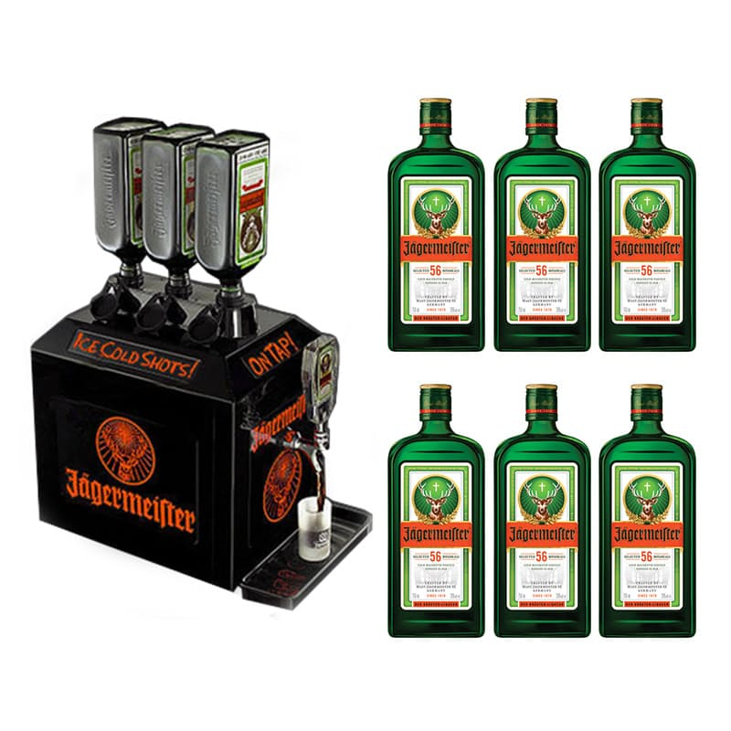 17 Off On 3 Bottle Tap Machine 6 Bottles Of Jagermeister