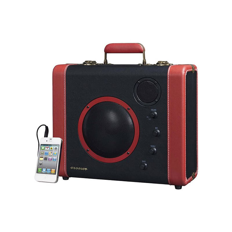 Soundbomb Portable Bluetooth Radio Speaker with Aux-In and Microphone Jack