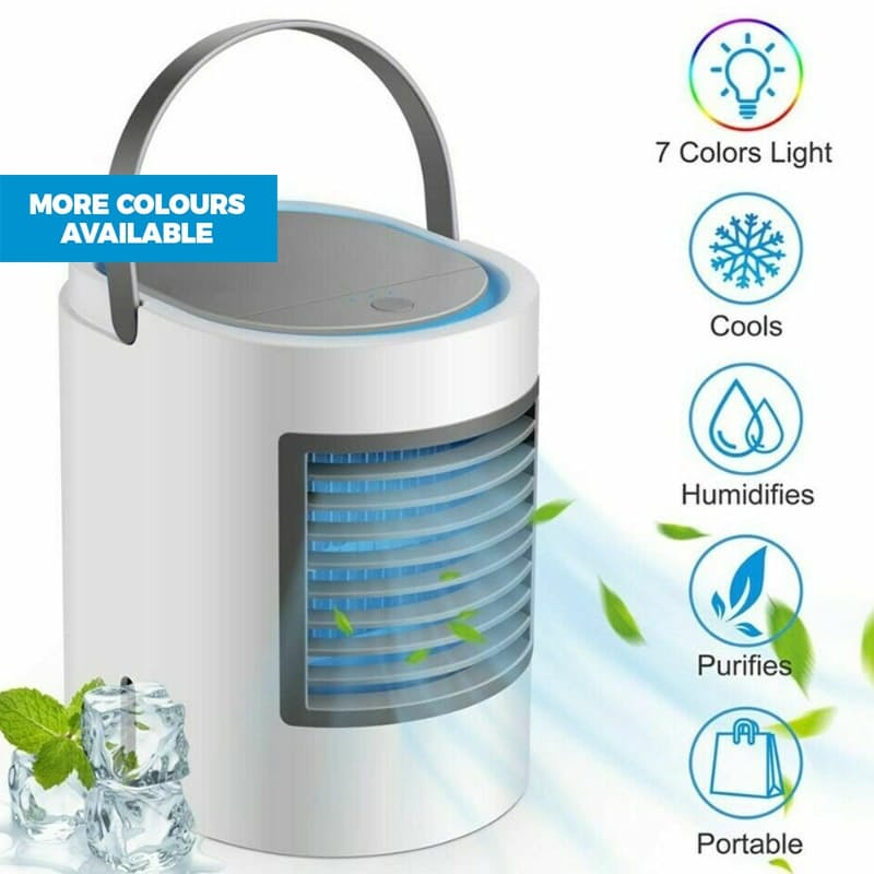 Portable Air Cooler with Built-in Nightlight