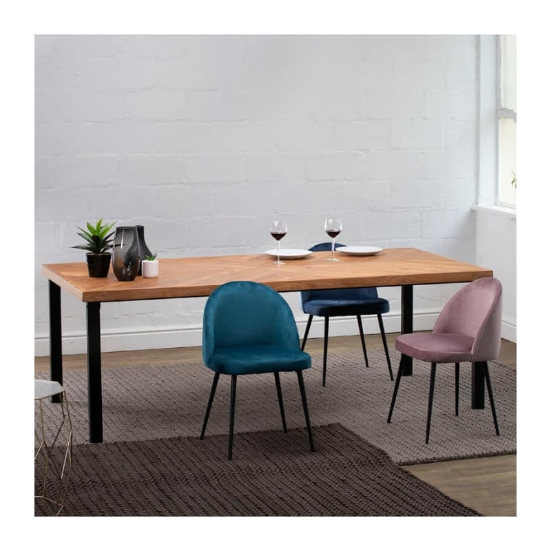 18 Off On Alina 2 2m Teak Wood Dining Table Onedayonly Co Za