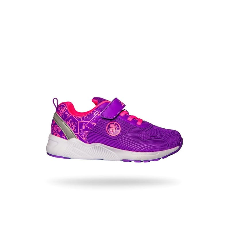 Aurora Girl's Velcro Strap Sneaker (2 Colours Available)