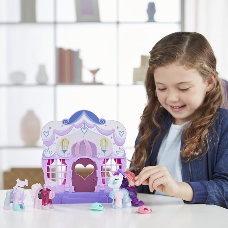 Rarity Fashion Runway Playset with Pony Figure