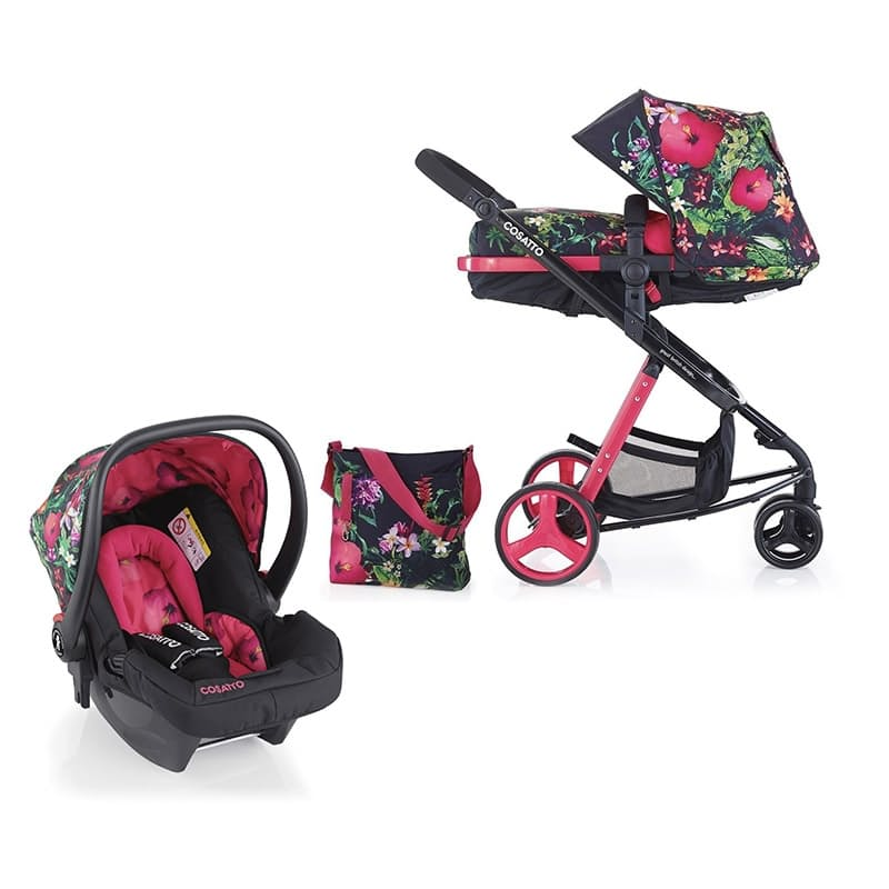 Wow Woop 2-in-1 Tropico Travel System + Wow Hold Tropico Car Seat