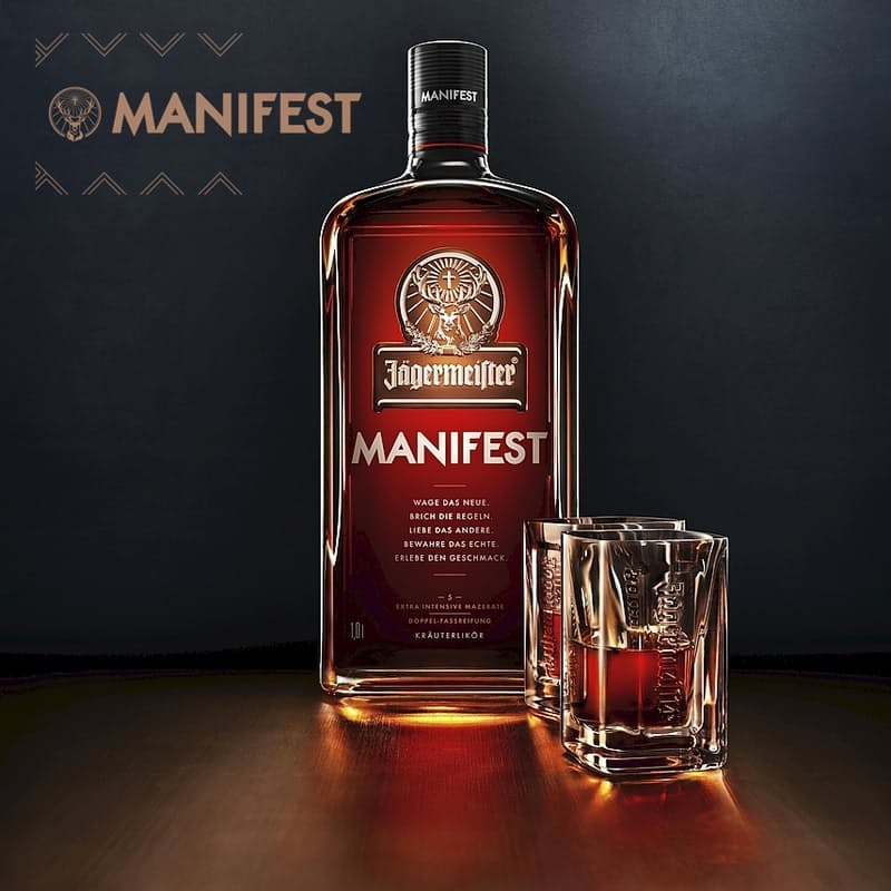 Manifest 1L Oak Aged Premium Jagermeister