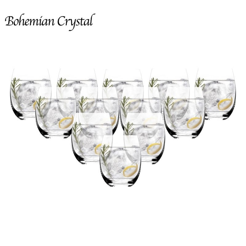 Set of 12 220ml Club Pollo Crystal Tumbler